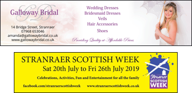 Scottish Week and Galloway Bridal - Banners